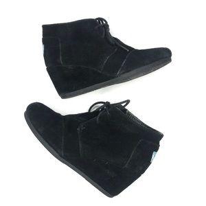 Toms Shoes - TOMS Women's Desert Wedge booties Casual Shoe